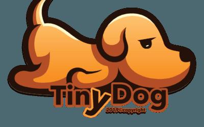 "New Product Line ""TinyDog"" Custom T-Shirt"